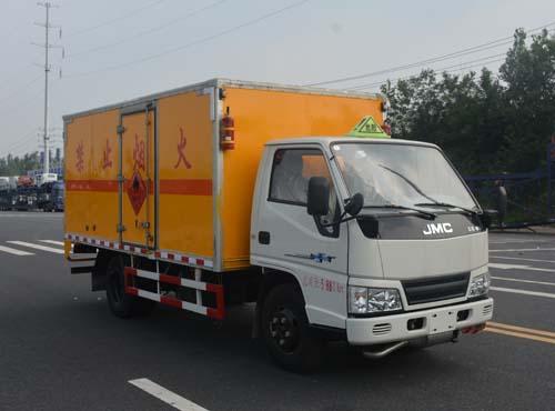 (廂長4.2米)江鈴易燃氣體廂式運輸車