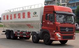 东风天龙40立方散装饲料运输车