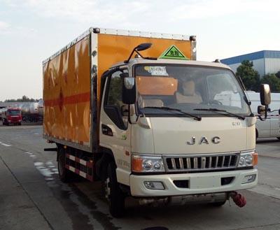 江淮国五易燃液体厢式运输车