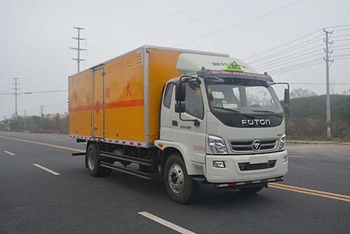 JHW5162XRYB易燃液體廂式運輸車