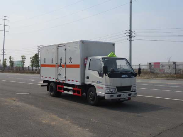 JDF5040XZWJ5杂项危险物品厢式运输车