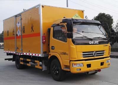 东风5.1米毒性和感染性物品厢式运输车