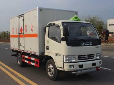 (廂長4.1米)東風小多利卡易燃氣體廂式運輸車