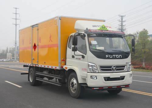(廂長6.2米)福田奧鈴易燃氣體廂式運輸車