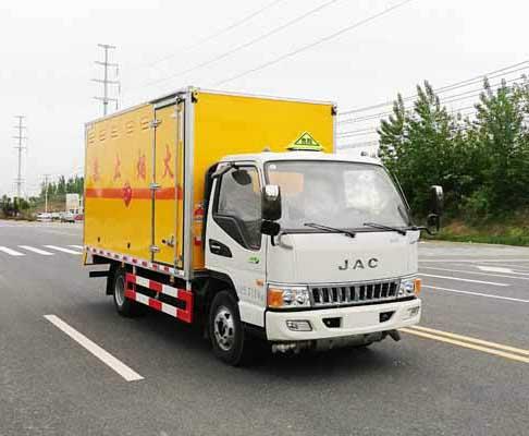 JHW5070XRQH易燃氣體廂式運輸車