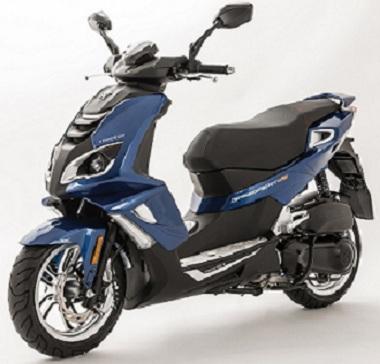 标致两轮摩托车