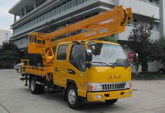 爱知牌16米高空作业车有哪些优点?