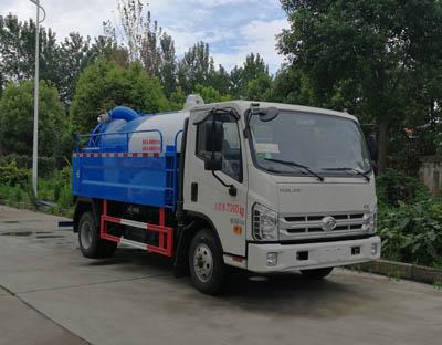 东风D6清洗吸污车可以拉多少立方污水。