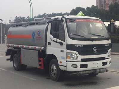 福田欧马可5吨加油车