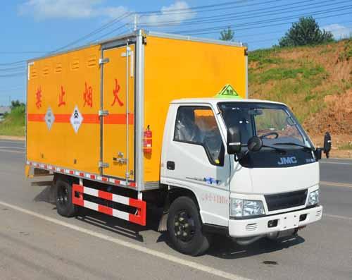 (廂長4.13米)江鈴毒性和感染性物品廂式運輸車