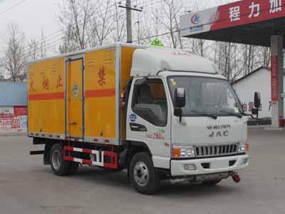 江淮3.5吨爆破器材运输车
