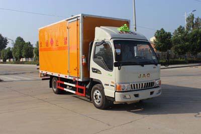 (厢长4.14米)江淮易燃液体厢式运输车