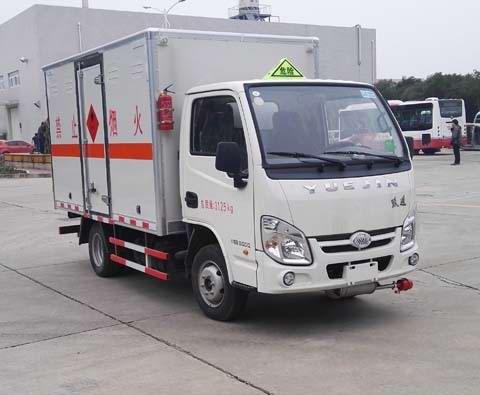 (厢长3.27米)跃进易燃液体厢式运输车