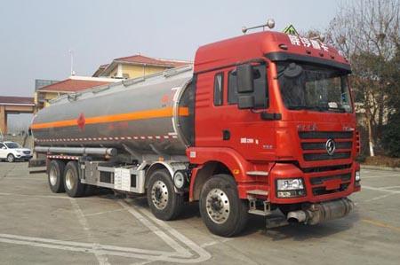 CSC5320GYYLS陜汽前四后八30.5方鋁合金運油車圖片