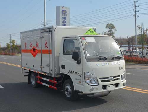 JHW5030XRQNJ易燃氣體廂式運輸車