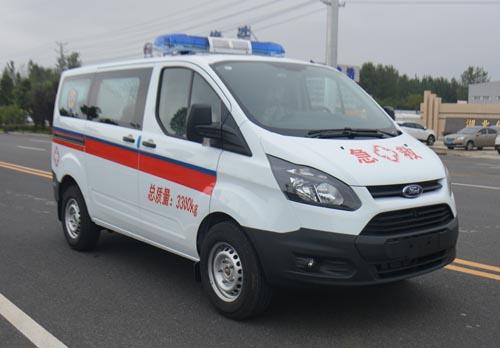 江铃新全顺短轴V362救护车