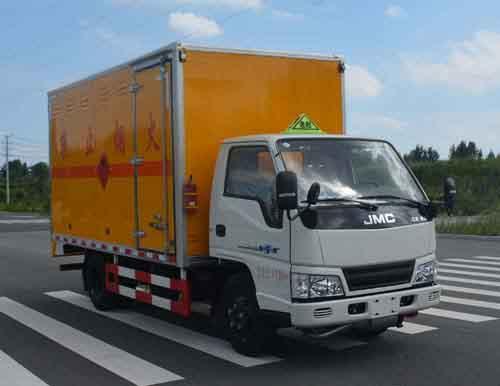 (廂長3.15米)江鈴易燃氣體廂式運輸車