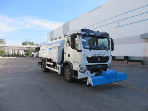 10吨高压清洗车能把路面冲洗干净吗