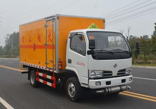 JHW5042XRQ易燃气体厢式运输车