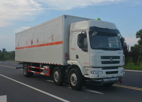 JHW5250XRYL易燃液體廂式運輸車
