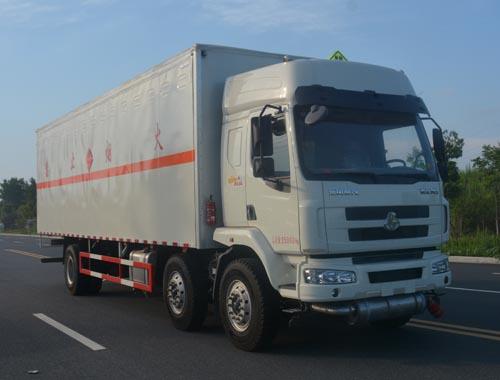 JHW5250XRQL易燃氣體廂式運輸車