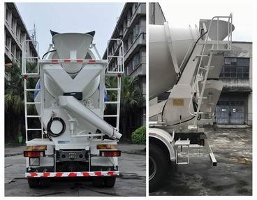 重汽豪沃14方混凝土搅拌运输车