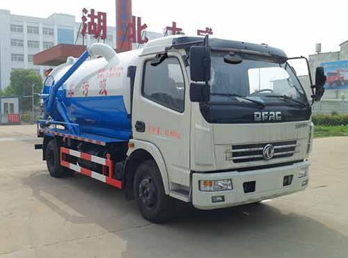 8吨吸污车的泵为什么不吸水了?