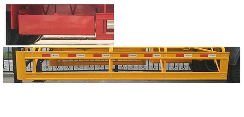 中集集装箱运输半挂车图片