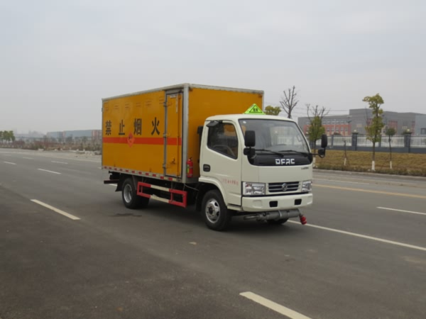 东风凯普特爆破器材运输车(4.1)黄牌