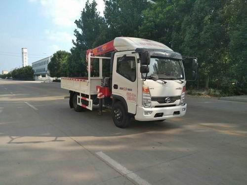 SSF5042JSQJ54随车起重运输车