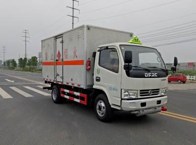 (廂長3.5米)東風D5易燃氣體廂式運輸車