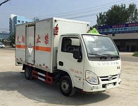 柴油版跃进小福星杂项危险物品厢式运输车