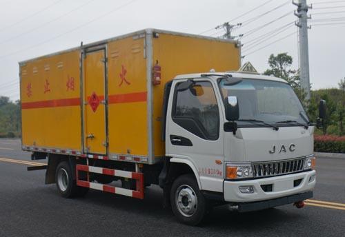 JHW5090XRQH易燃氣體廂式運輸車
