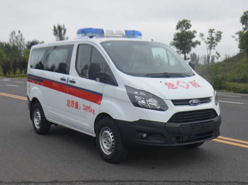 新全顺短轴救护车