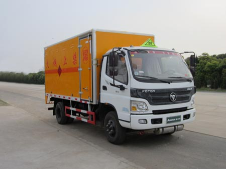 福田欧马可4吨爆破器材运输车