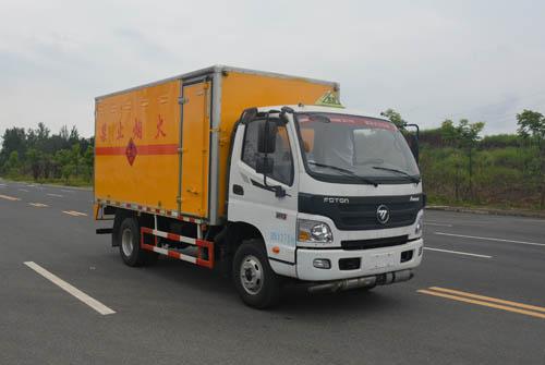 JHW5080XRYB-A2易燃液體廂式運輸車