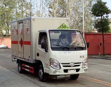 跃进易燃液体厢式运输车