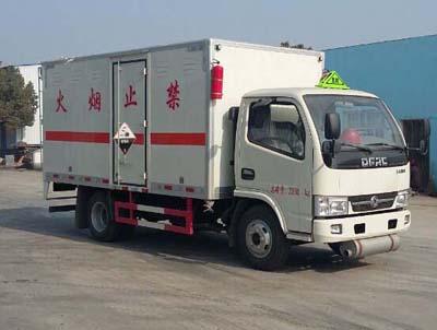 (廂長4.12米)東風D6腐蝕性物品廂式運輸車圖片