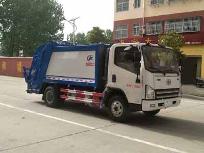 五十铃8吨压缩式垃圾车