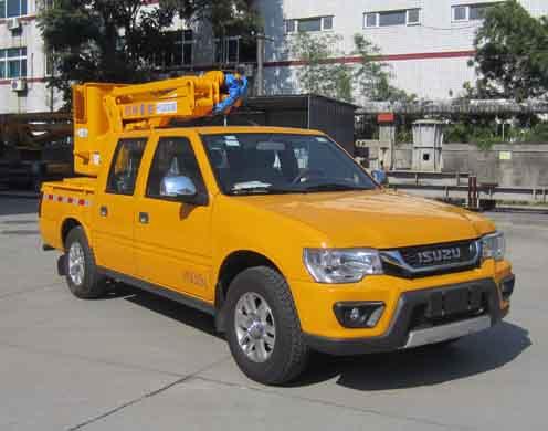爱知牌16米高空作业车是那个厂家做的!售价多少钱