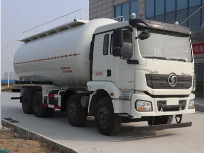 陕汽德龙20吨粉粒物料运输车