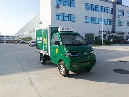 燃料电池电动邮政车图片