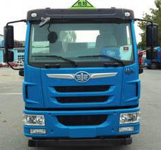 解放8.72立方腐蝕性物品罐式運輸車_高清圖片