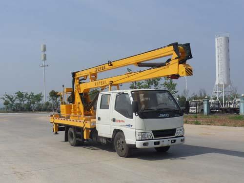 江铃16米高空作业车操作方法及性能特点