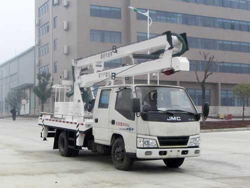江铃16米高空作业车厂家操作规范