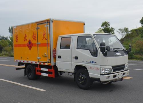 JHW5041XRYJX易燃液體廂式運輸車