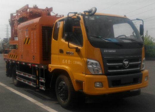 飞涛车载式混凝土输送泵车图片
