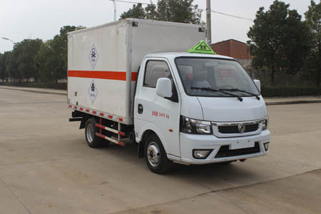 (廂長3.38米)東風俊風毒性和感染性物品廂式運輸車