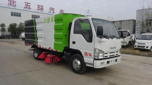 五十铃HCQ5072TSLQL5扫路车