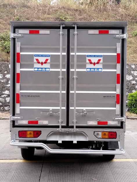 五菱牌lqg5028xxyspy型厢式运输车图片图片